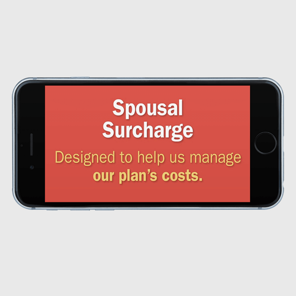 Primary thumbnail image for video Spousal Surcharge - What You Need to Knowhttps://videos.sproutvideo.com/embed/d49adeb11b18e0c35c/75b28539e36535ba