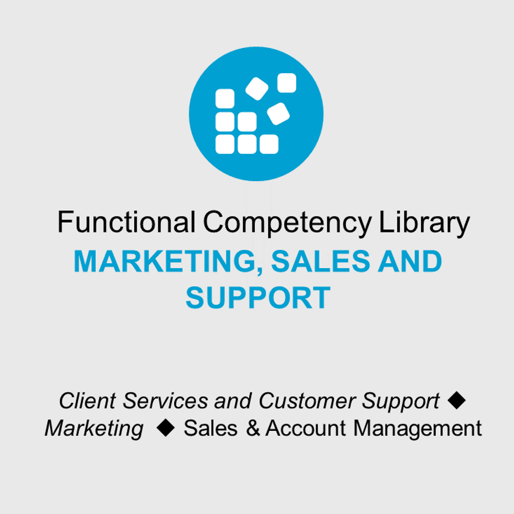 Thumbnail image for Functional Competency Libraries - Mkt, Sales, and Support Bundle