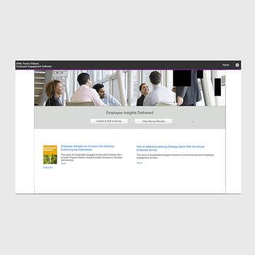 Thumbnail image for Home page for Willis Towers Watson Pulse Software