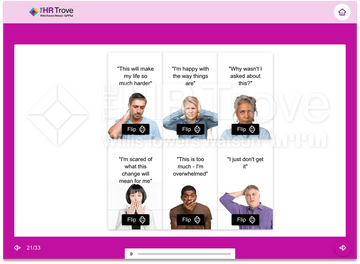 Thumbnail image for Change Leadership 101 Training Flash Card Example