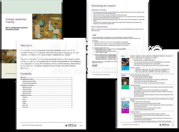 Thumbnail image for Change Leadership 101 Training Facilitation Guide Examples