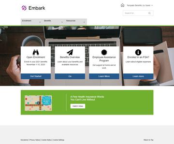 Embark for digital benefits communications