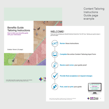 Thumbnail image for Benefits Enrollment Guide, Cover and Process Image