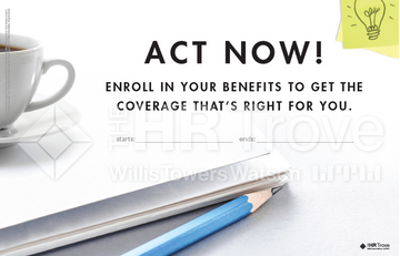 Thumbnail image for Benefits Enrollment Poster (Bright Ideas Design) Watermarked