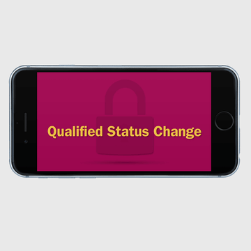 Thumbnail image for video Qualified Status  Changes https://videos.sproutvideo.com/embed/709adeb11b19e4c3f8/1cf8b7f3b685ceec