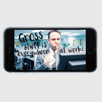 Thumbnail image for video Gross stuff is everywhere at work https://videos.sproutvideo.com/embed/489adeb11b16e9c7c0/0cdaf0122f8338b9