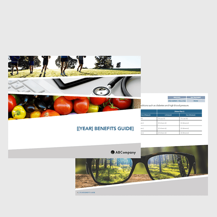 Primary thumbnail image for Benefits Enrollment Guide (12-page Comprehensive, Outdoor Vibrant Design)