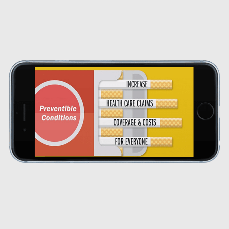 Primary thumbnail image for video Tobacco Surcharge - It Pays to Quithttps://videos.sproutvideo.com/embed/7c9adeb11b18e0c1f4/4ce92bd7aa565d86
