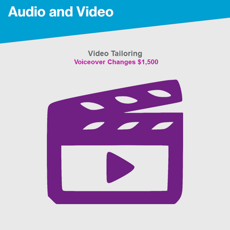 Primary thumbnail image for Video Tailoring Text Edits