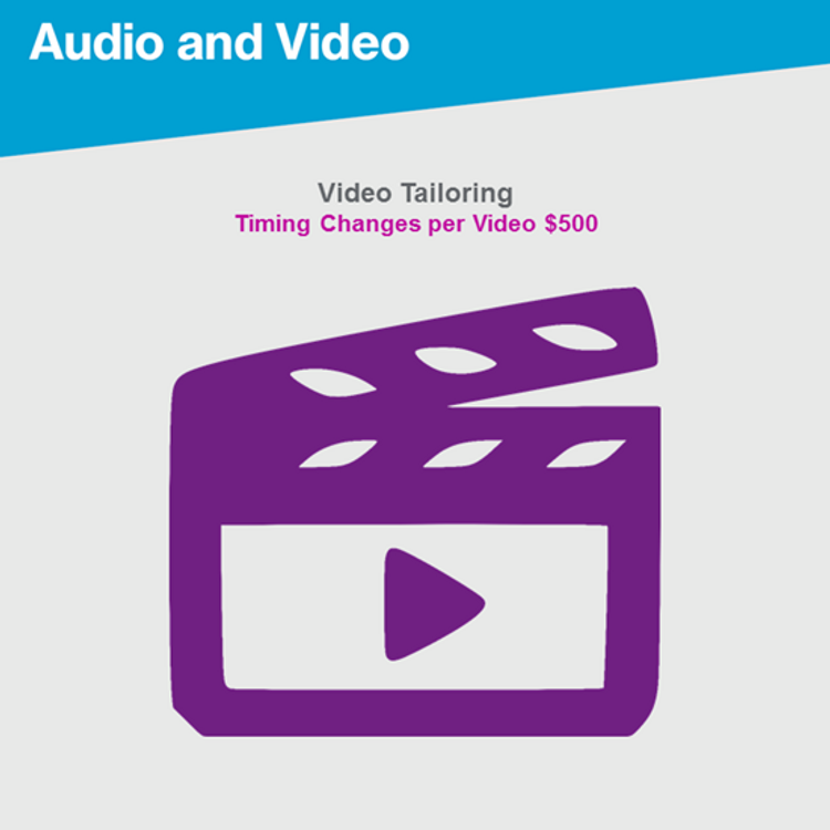 Primary thumbnail image for Video Tailoring Voiceover Change