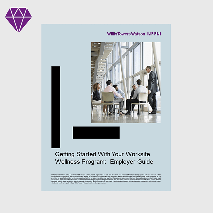 Primary thumbnail image for  Getting Started With Your  Worksite Wellness Program: Employer Guide