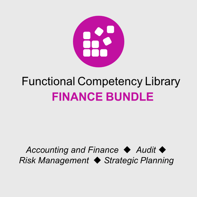 Thumbnail image for Functional Competency Libraries - Finance Bundle