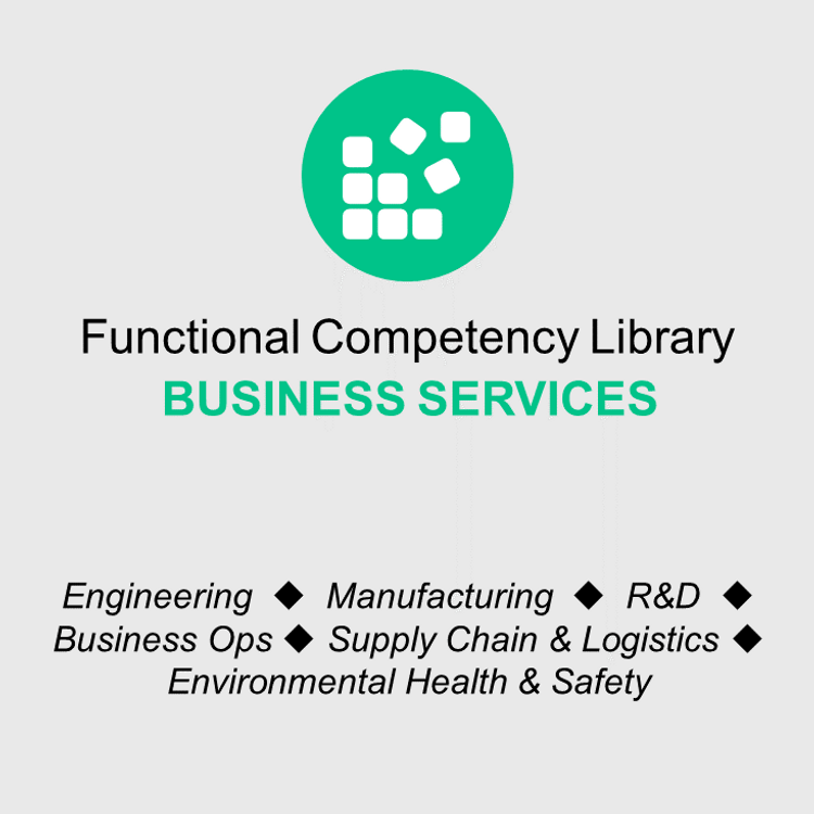 Thumbnail image for Functional Competency Libraries - Business Services Bundle