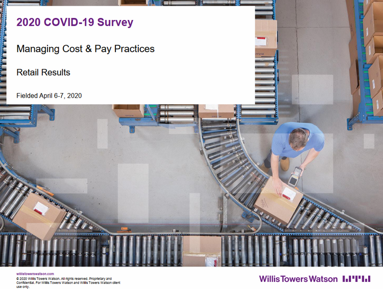 Managing Cost & Pay Practices COVID19 Survey
