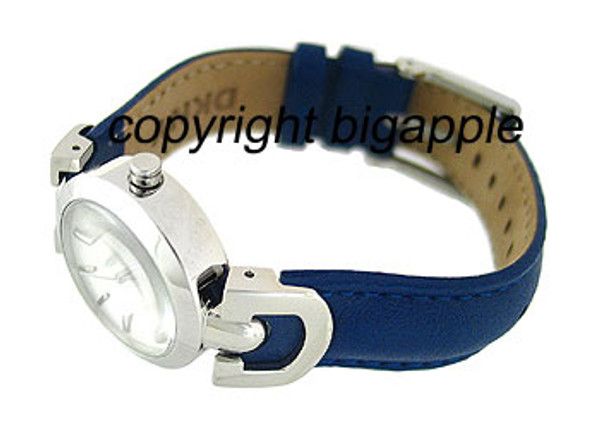 DKNY Blue Leather Band 50 Meter Ladies Watch NY4950