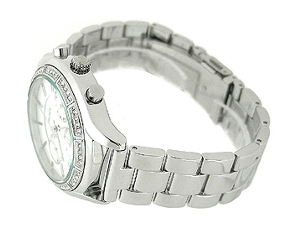 DKNY Chronograph Mother-Of-Pearl Ladies Watch NY8251