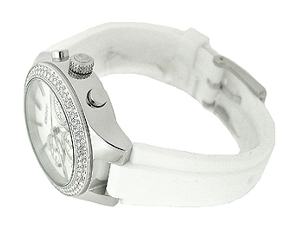 DKNY Chronograph Silicone 50M Ladies Watch NY8196