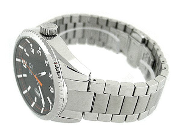 Esq Movado Date Stainless Steel Mens Watch 07301425