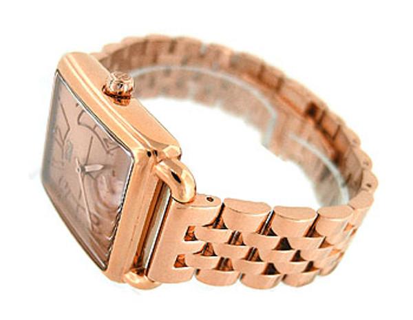 Esq Movado Swiss Rose Gold Tone Ladies Watch 07101409