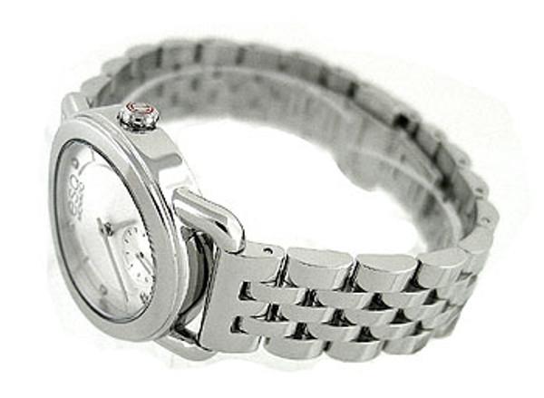 Esq Movado Swiss Diamond Silver Ladies Watch 07101410