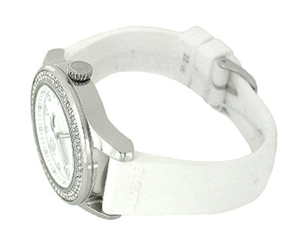 Lacoste Mother-Of-Pearl Silicone 50M Ladies Watch 2000647