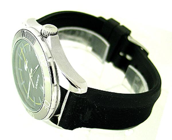 Lacoste Black Polyurethane 50M Mens Watch 2010509