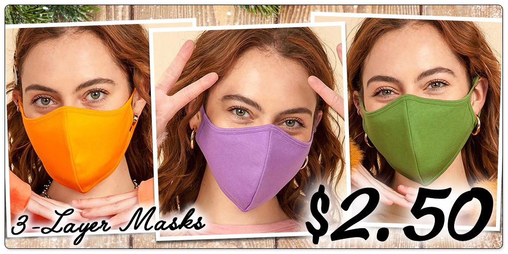 HYFVE 3-Layer Masks