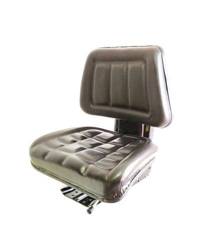 TRACTOR SEAT SLIDING WEIGHT ADJUSTABLE WITHOUT ARM REST UNIVERSAL    BLACK