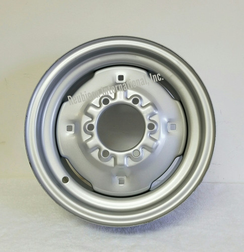 """FRONT WHEEL RIM 5½"""" x 16""""  FORD  SILVER"""