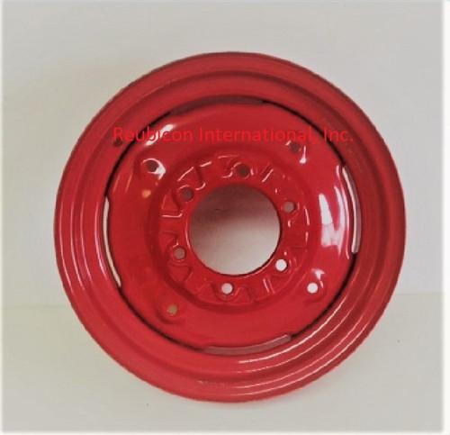 """FRONT WHEEL RIM 4½"""" x 16"""" - RED (005554874R91, 000041685C08, 005558175R91, E007601441A91)"""