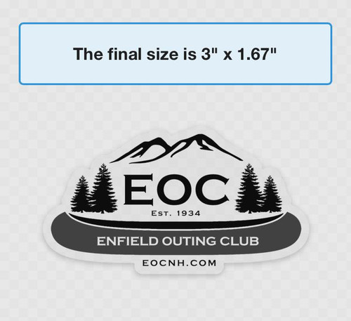 EOC Clear Window Decal