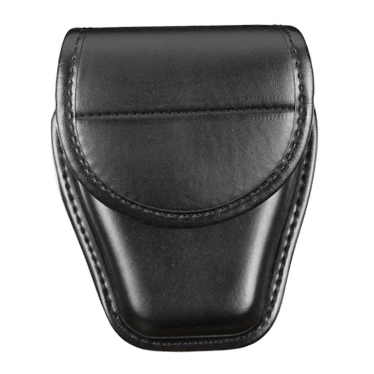 Black Plain Handcuff Case Front
