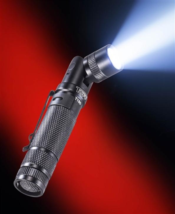TUFF T180 Rotating Head Flashlight (CR123A or AA)