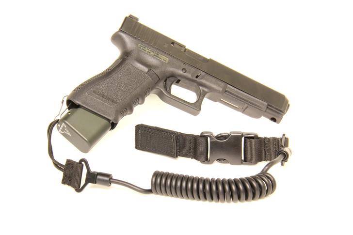 2300 Gun Lanyard  Black
