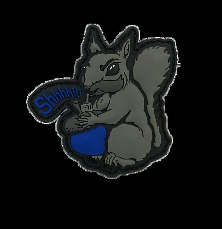 "Secret Squirrel 2.5"" patch"