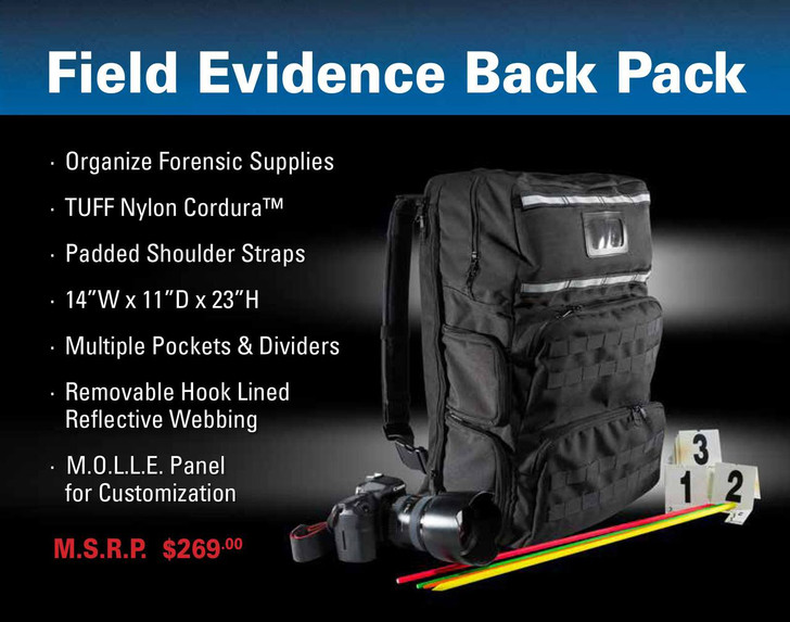 TUFF 4079 Field Evidence Back Pack