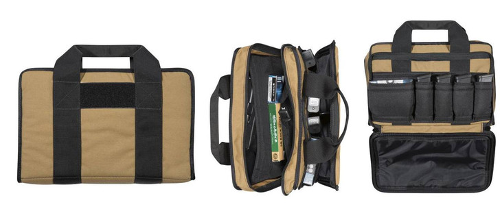 Dual Padded Locking Pistol Pouch