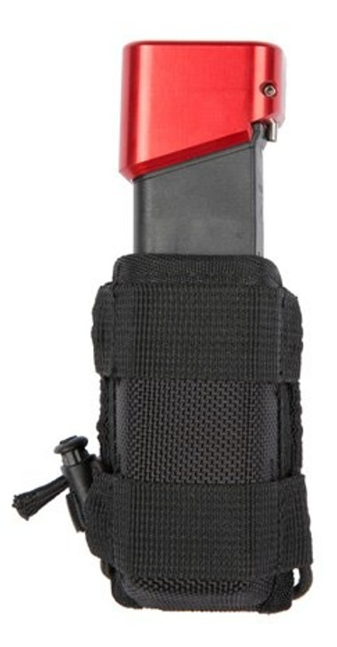 8225- TUFF Clip On Bungee Pistol Mag Pouch B.P.M.P