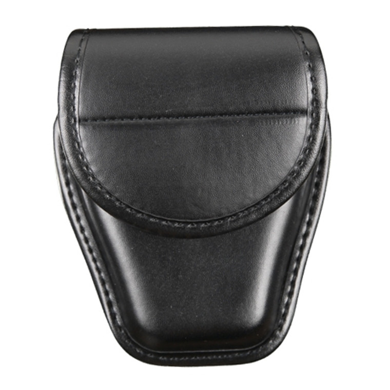 Black Plain Handcuff Case Front