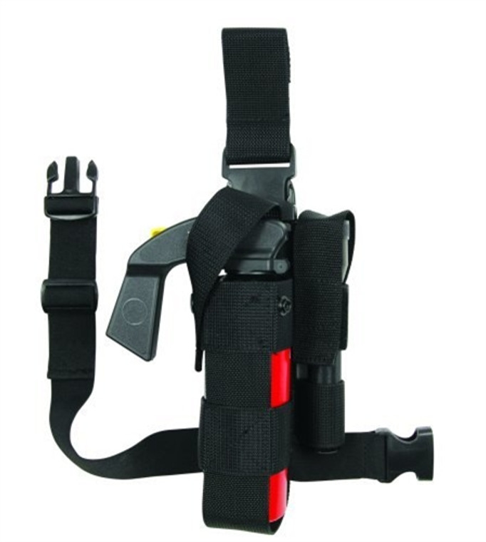 8902 TUFF MK9 Leg Holster with Flashlight Holder