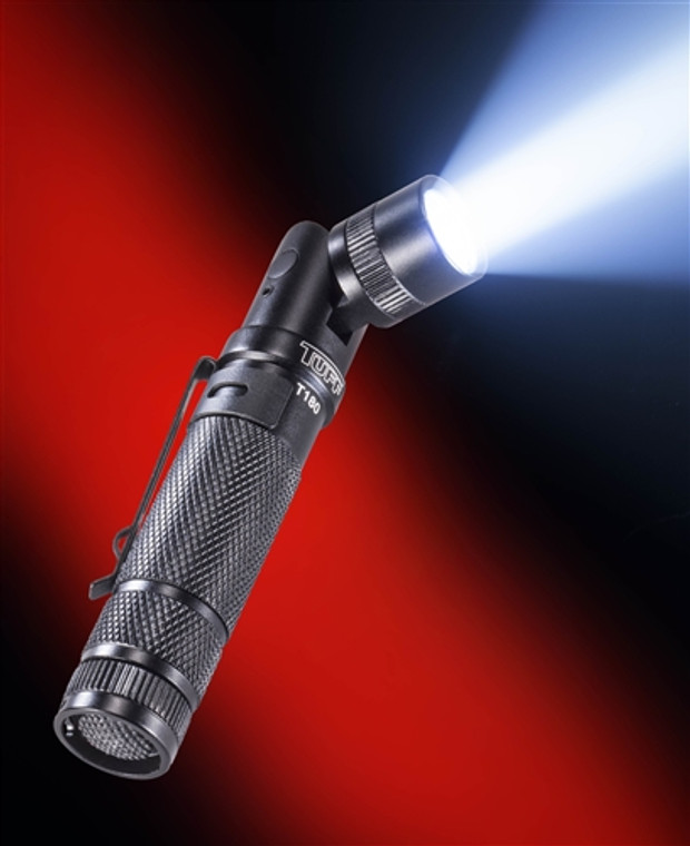 TUFF T180 Rotating Head Flashlight (CR123A or AA)