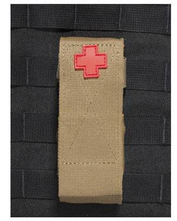 8878- TUFF 3 Way Tourniquet Pouch MOLLE Mounted