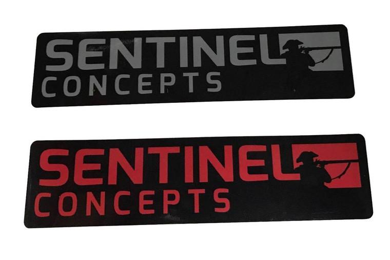 "Sentinel Concepts Elite Stickers 6"" wide"