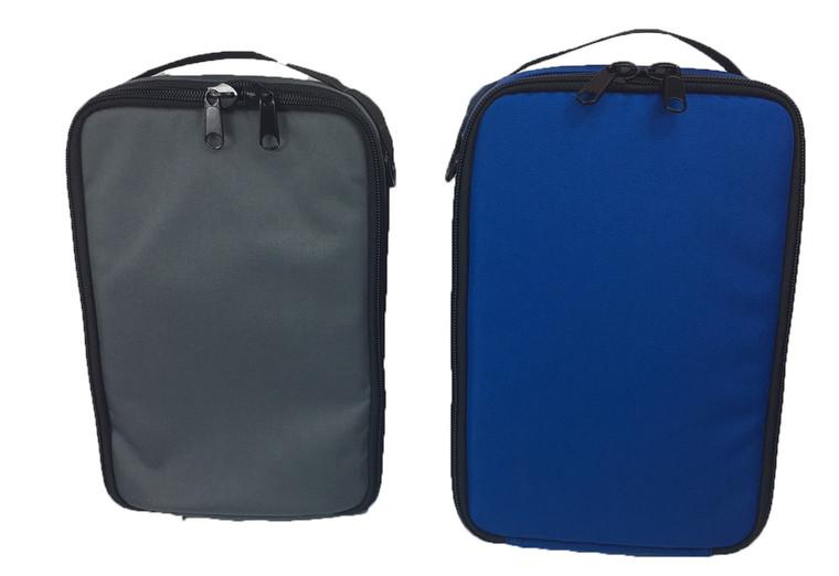 8804- Mag Bag and Accessory Bag Set Blue and Gray