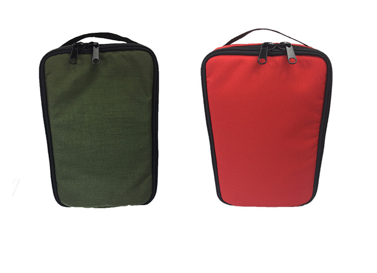 8804- Mag Bag and Accessory Bag Set Red and Olive Drab