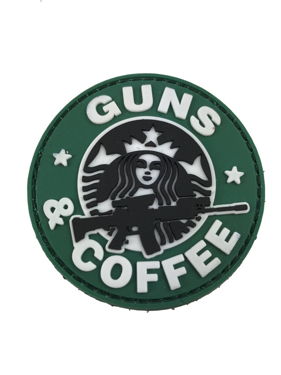 Guns and Coffee and Ar15 Patch