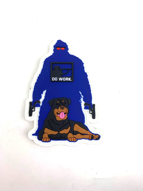 """SCE Patch YetiPup 3.5""""tall x2.5""""Wide."""