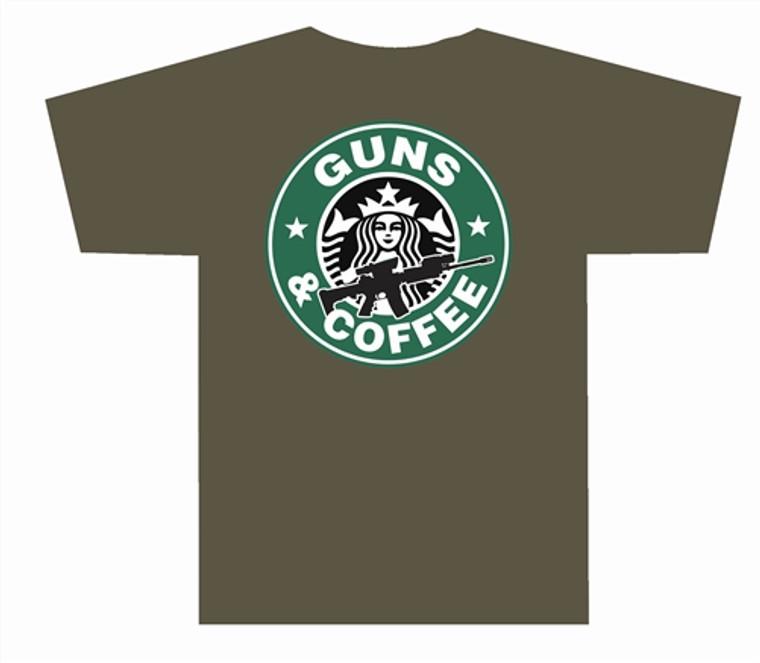 3001 Guns and Coffee T Shirt