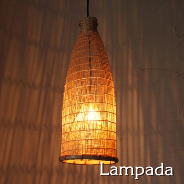 Lampada Bamboo Pendant Light IDP114