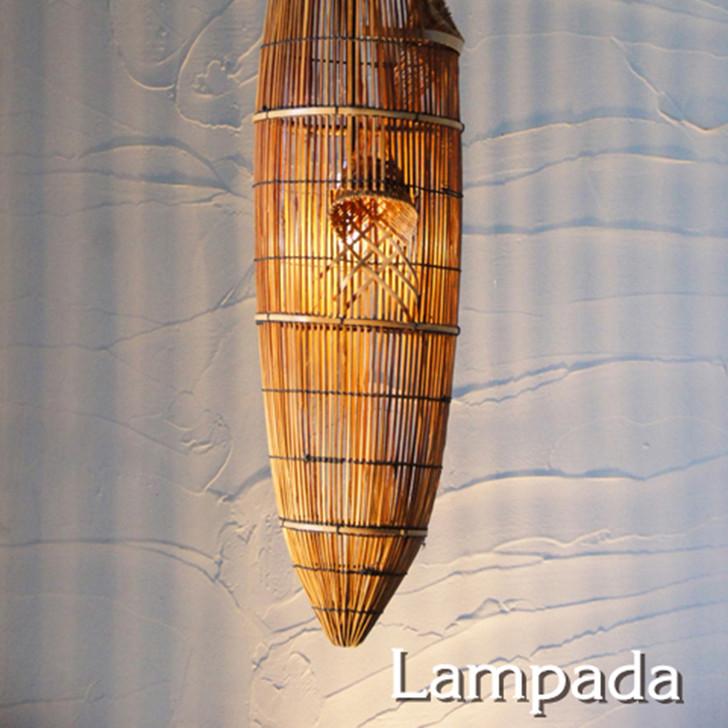 Lampada Bamboo Pendant Light IDP115